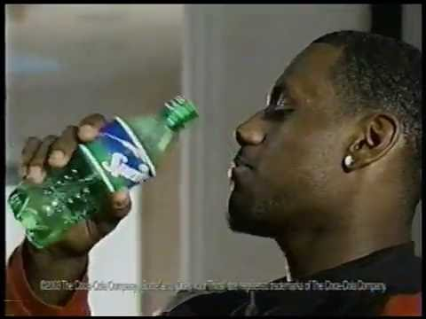 LeBron James Rookie Sprite Commercial - Funny How?