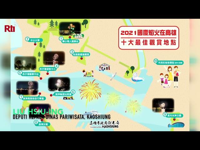 Pesta Kembang Api Perayaan Double Ten 2021donesia