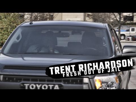 Watch Trent Richardson leave Hoover City Jail