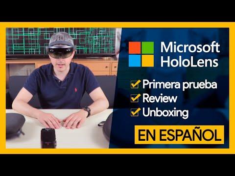 HOLOLENS - Primera prueba, review y unboxing en español