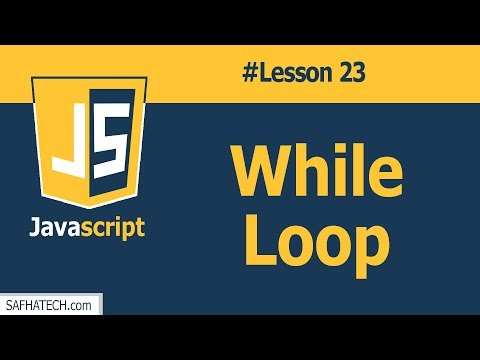 How to Deal with While Loop in JS? | Lesson 23 JavaScript Tutorial thumbnail