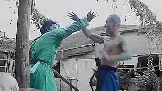 Кунг фу А Цай против зеленого монстра   Kung fu A tsai against a green monster