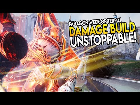 "Paragon Week Of Terra! ""I'm UNSTOPPABLE! DAMAGE BUILD"" Terra Gameplay & Tips/Tricks"
