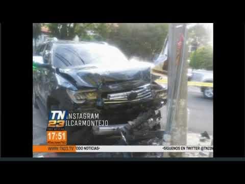 Mujer falleció en percance vial en zona 10