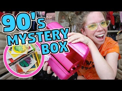 What's Inside this 90's Stationery MYSTERY BAG?!