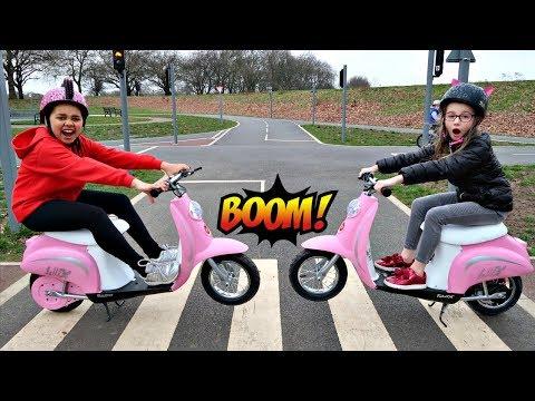 Power Wheels Ride On Bike Surprise Toys - Playground Family Fun | Toys AndMe