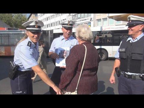 AUGEN AUF UND TASCHE ZU! - Auftaktveranstaltung: Polizei Bonn beteiligt sich an Aktionswoche