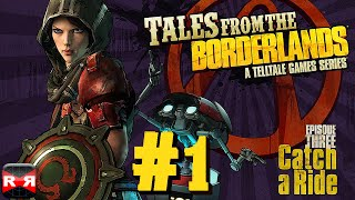 Tales from the Borderlands Episode 3: Catch a Ride - iOS / Android - Walkthrough Gameplay Part 1