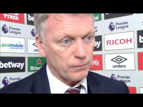 David Moyes on pitch invaders | Post match interview | West Ham United 0-3 Burnley | Premier League