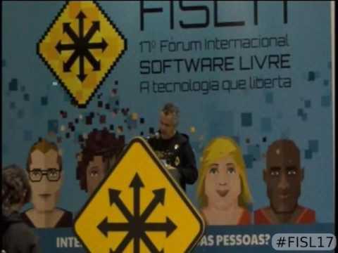 Abertura oficial do FISL17