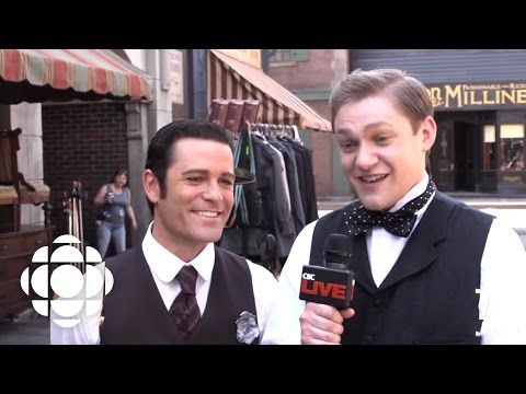 Downton Abbey Star Thomas Howes on Murdoch Mysteries  Murdoch Mysteries  CBC