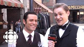 Downton Abbey Star Thomas Howes on Murdoch Mysteries | Murdoch Mysteries | CBC