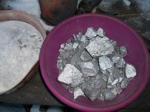 Порошок алюминиево-магниевого сплава