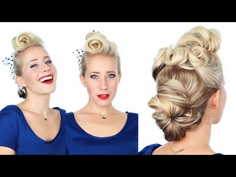 1940's-pin-up-girl-hairstyle