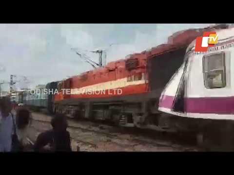 Train Accident At Kacheguda Railway Station, Hyderabad