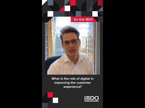 How can technology improve the customer experience? | BDO Canada