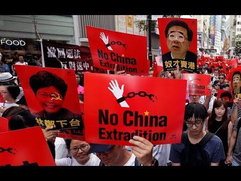 《今日点击》香港大游行 代表各行业阶层无人相信中共政权