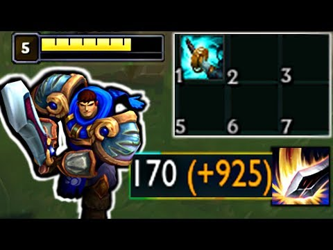 Full AD GAREN NEEDS NERF!!! First Item STORMRAZOR | Not Balanced Episode #1