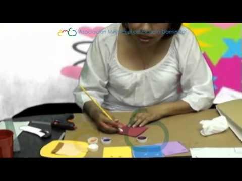 Taller de manualidades hechos con prop sito youtube - Trabajos manuales para adultos ...