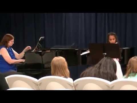 Mirella's Flute Recital