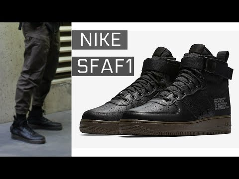 Nike SFAF1 review and styling | TECHWEAR