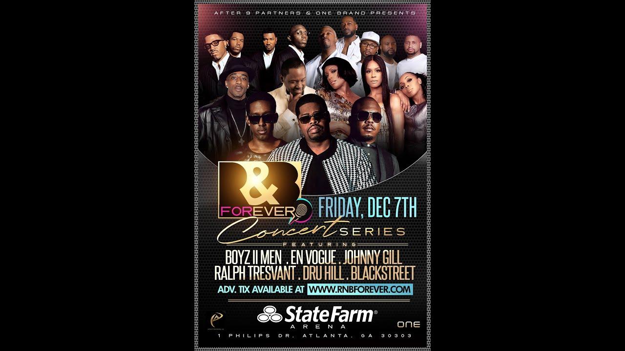 Download R&B Forever Boyz II Men & Friends Concert 12.7 Atlanta, GA Promo B2M v1