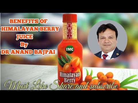 BENEFITS OF HIMALAYAN BERRY JUICE OF IMC BY DR ANAND BAJPAI (हिमालयन बेरी जूस के फायदे)