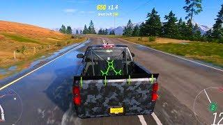 Forza Horizon 4 - Chevrolet Silverado 1500 Deberti Design Truck 2018 - Open World Free Roam Gameplay