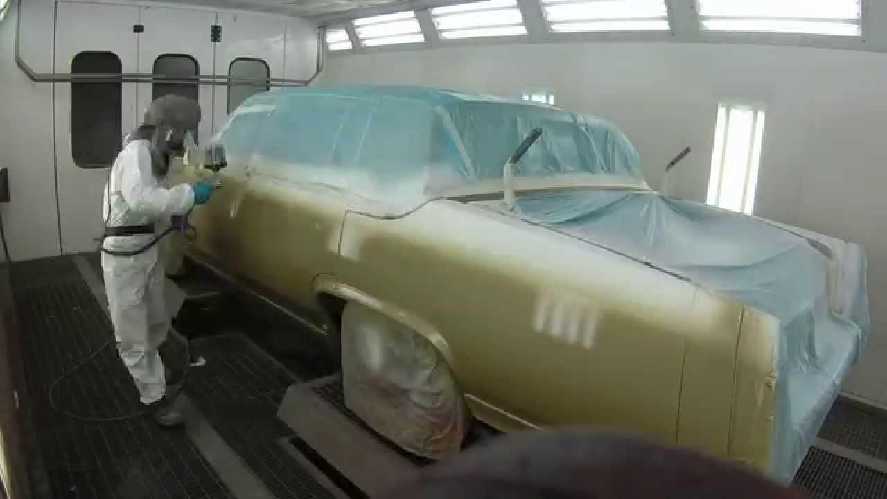 Auton ruiskumaalaus