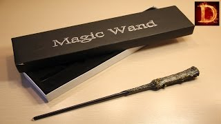 Светящаяся палочка Гарри Поттера !(В этом видео я покажу вам волшебную палочку из вселенной Гарри Поттера . Эта палочка не простая,а светящаяся..., 2016-08-04T20:06:14.000Z)