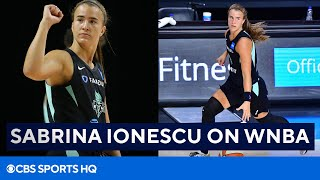 Sabrina Ionescu On WNBA Season, New York Liberty's 2021 Outlook, & More | CBS Sports HQ