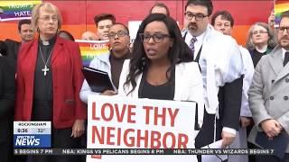 News 14: Faith Leaders Lead Unity Vigil at Wedgewood Church