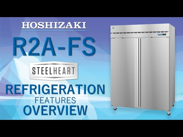 Steelheart Upright Refrigerator R2A-FS Overview - 2019 Pizza Show