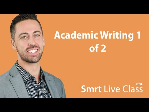 Academic Writing 1 Of 2 - English For Academic Purposes With Josh #47