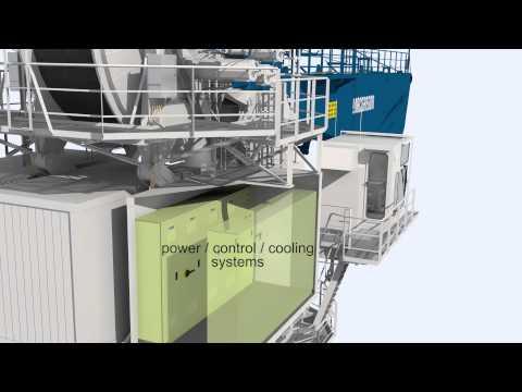 MacGregor semi-electric AHC subsea crane