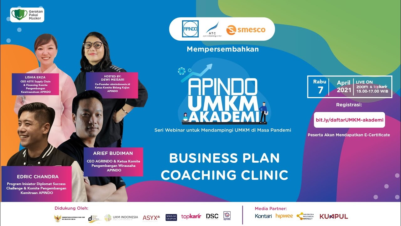 Business Plan Coaching Clinic