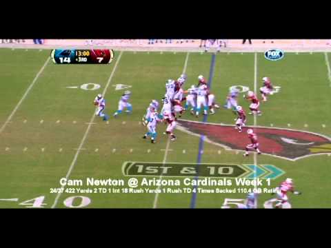All Cam Newton Plays Week 1