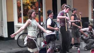 Washboard Band does Robert Johnson in New Orleans