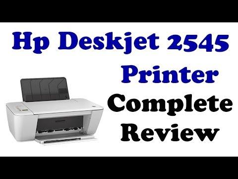 software printer hp deskjet 2545