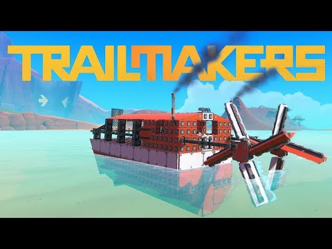 The Perfect Paddle Wheel Boat - 80 MPH Paddle-only Speedboat! In Trailmakers