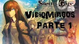 Steins Gate - Prólogo Parte 1 de 2 - Gameplay en Español - Viciomingos
