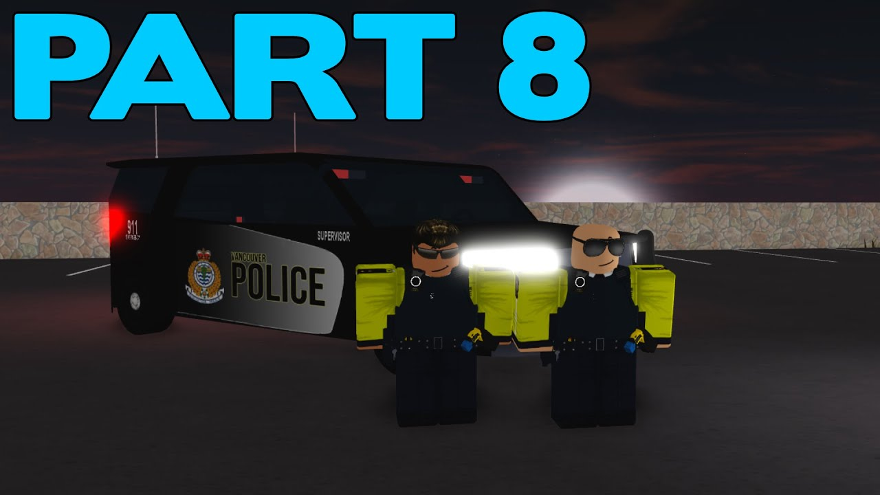 ROBLOX Vancouver Police Patrol Part 8 | Long Pursuit with an RV!