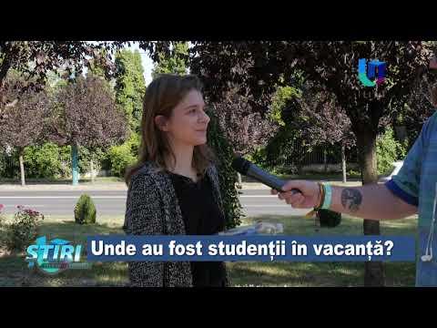 TeleU: Unde au fost studenții în vacanță?
