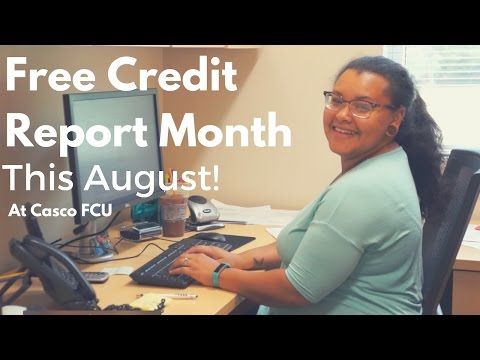 Free Credit Report Month!