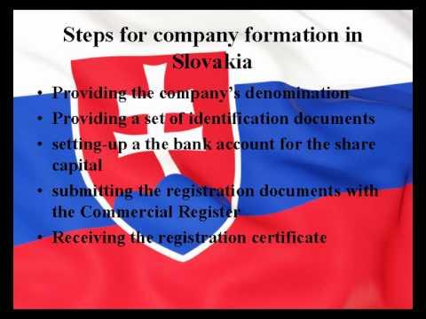 How to establish a company in Slovakia