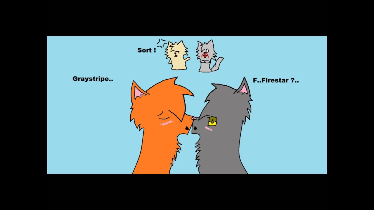 Warrior Cats Graystripe And Fireheart