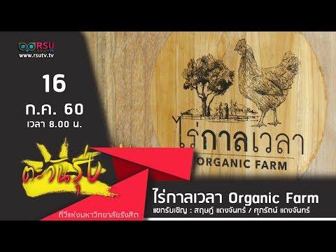 ตะวันรุ่ง : ไร่กาลเวลา Organic Farm