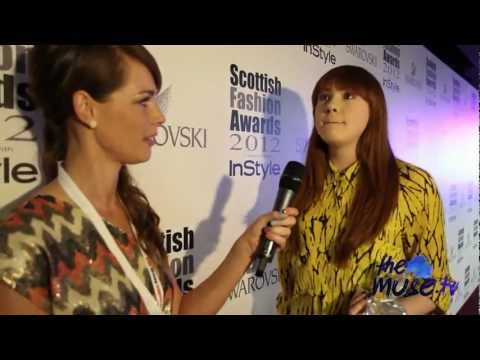Scottish Fashion Awards red carpet with The Muse TV