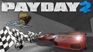 Gambar cover Car Racing mod Payday 2 (Custorace Heist)