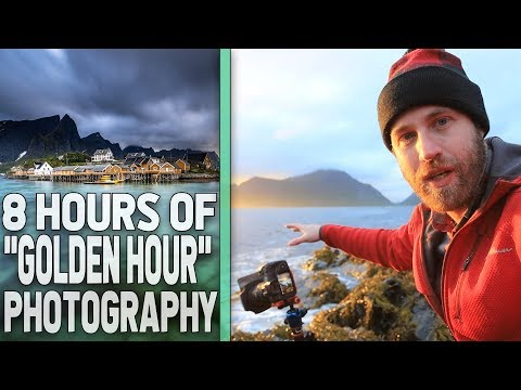 Photography in The Lofoten Islands During the Midnight Sun